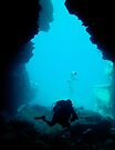 Cave Diver by colourfreestyle