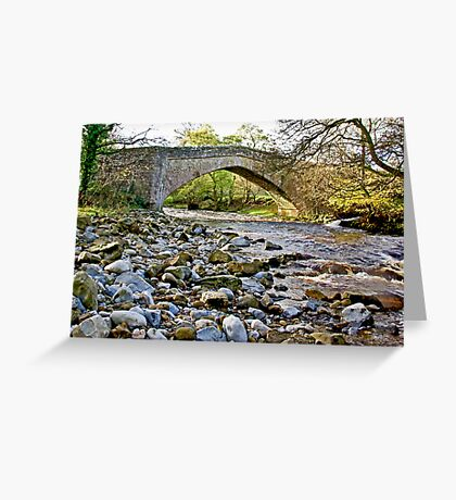 Packhorse Bridge - Coverdale Greeting Card