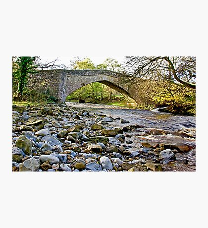 Packhorse Bridge - Coverdale Photographic Print