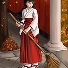 Japanese Girl in Autumn by yrya-chan
