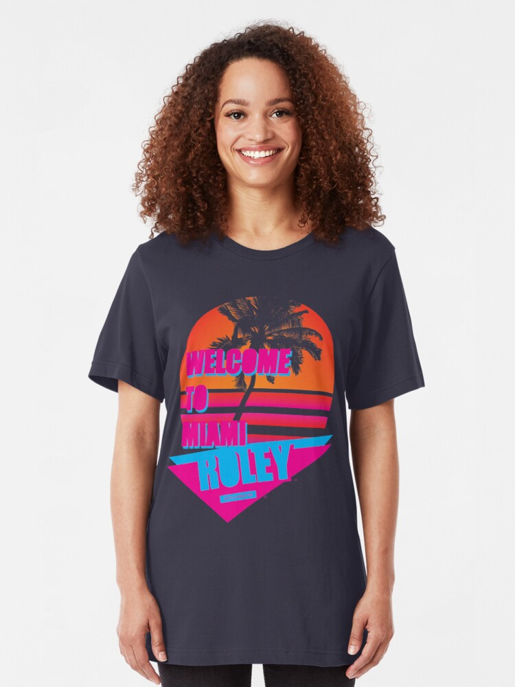 Alternate view of Welcome To Miami - Roley Slim Fit T-Shirt