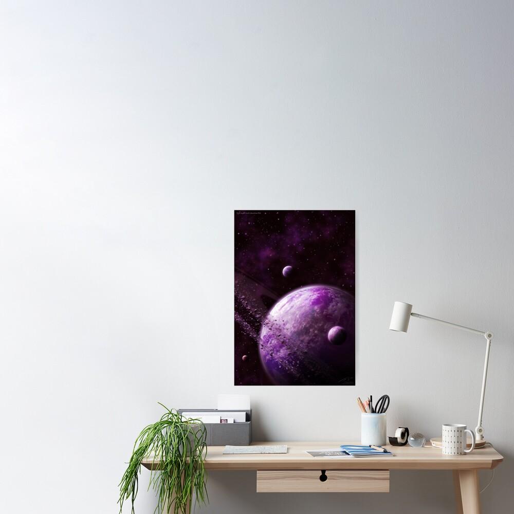 Pink Super Earth (Xianthen-18) Poster
