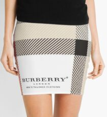 burberry Mini Skirt