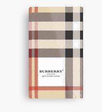 burberry Metal Print