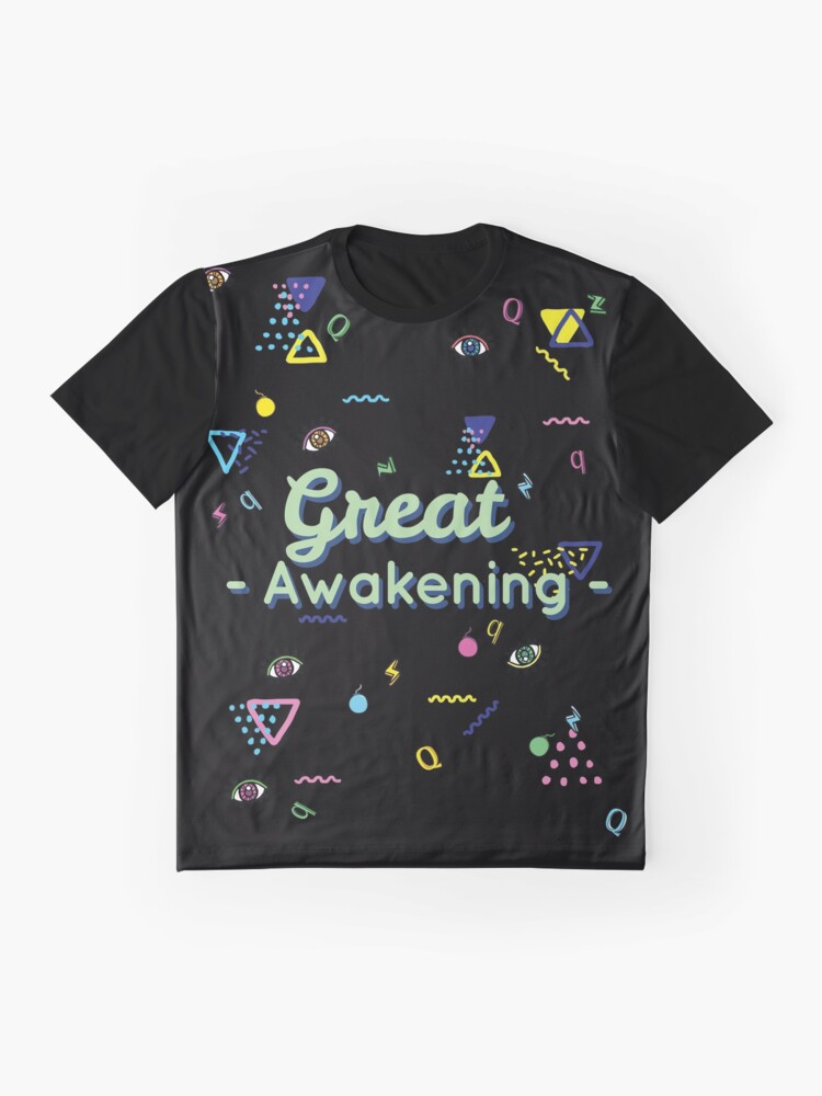 Alternate view of Q And The Great Awakening  Graphic T-Shirt