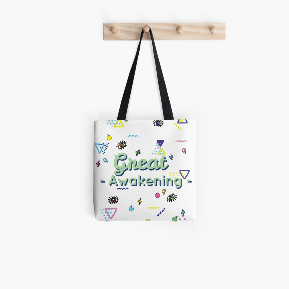 Q And The Great Awakening  Tote Bag