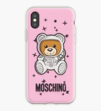 pink moschino iPhone Case