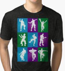 Fortnite Dances - color Tri-blend T-Shirt