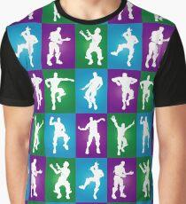Fortnite Dances - color Graphic T-Shirt