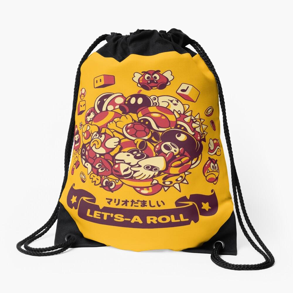 Katamario Drawstring Bag
