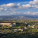 Padula village, Campania - San Lorenzo monastery by Silvia Ganora