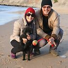 38. Alan & Brenda with Ebony the Toy Poodle by Cathie Brooker