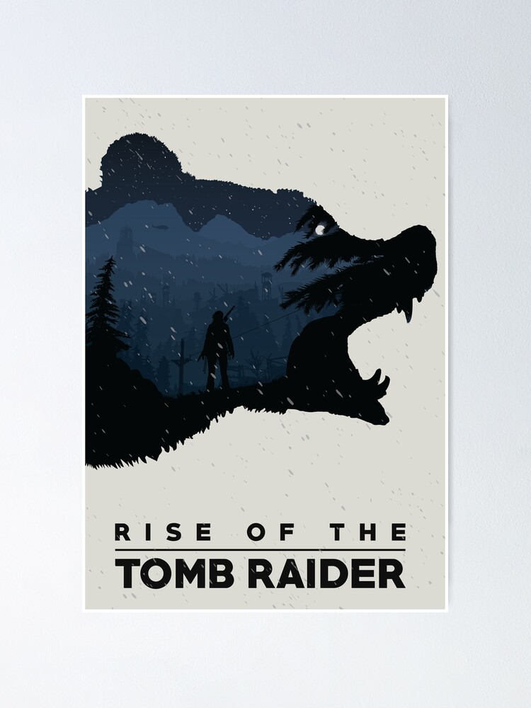 Alternate view of Rise of the Tomb Raider Poster