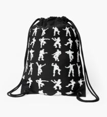 Fortnite Dances - black Drawstring Bag