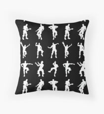 Fortnite Dances - black Throw Pillow