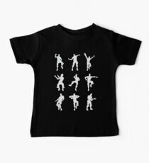 Fortnite Dances - black Baby Tee