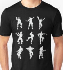 Fortnite Dances - black Unisex T-Shirt