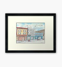 """""""Gus' Tackle Shop"""" by Robin Galante Framed Print"""