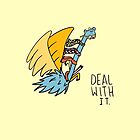 Deal With It Illustration by Jess Emery