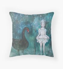 Black Swan, Guide Me To Morning Throw Pillow