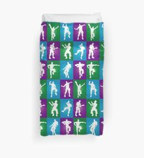 Fortnite Dances - color Duvet Cover