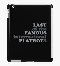Der letzte der berühmten iPad-Hülle & Klebefolie