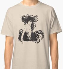 French Nude Vintage Drawing Sketch Classic T-Shirt