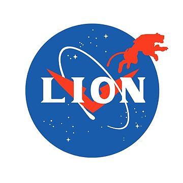 lion nasa  by ibrahimGhd