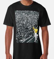 Fredddie Mercury Rock Concert Yellow Jacket Longshirt