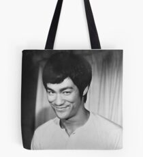 Bruce Lee Shirt Tote Bag