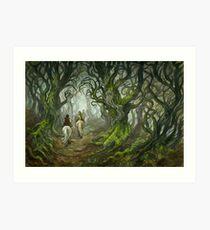 The Old Forest (borderless) Art Print