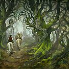 The Old Forest (borderless) by BohemianWeasel