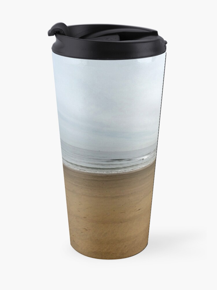 Alternate view of Morning sands Travel Mug