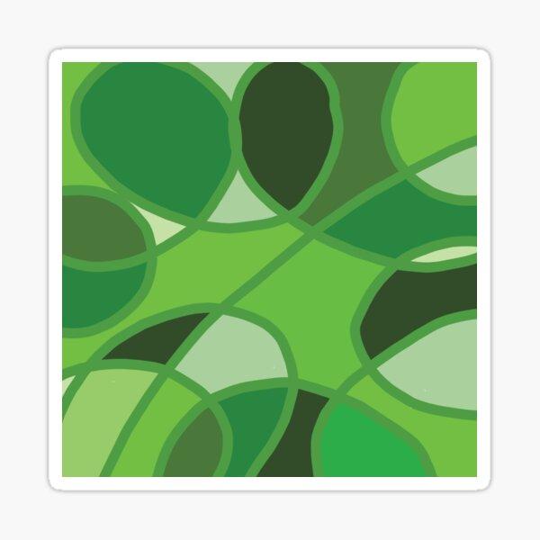 Green Circles Sticker