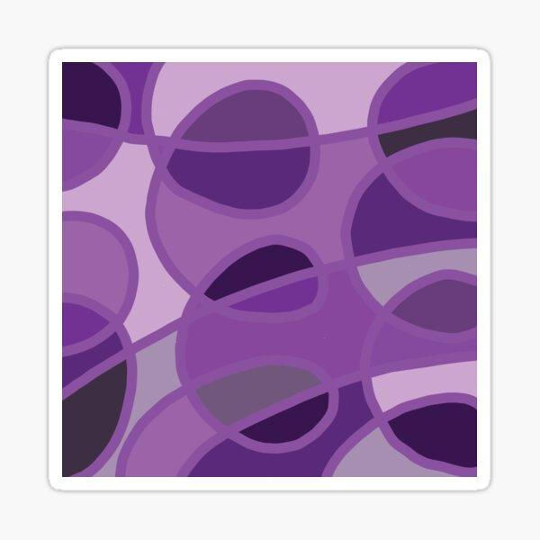 Purple Circles Sticker
