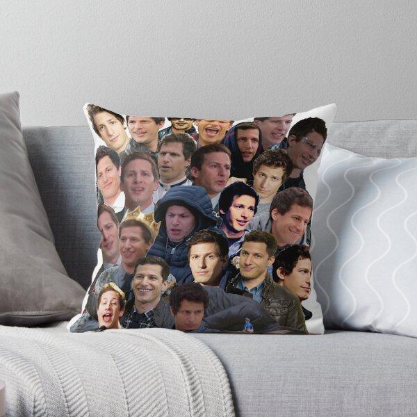 Jake Peralta Paparazzi Throw Pillow