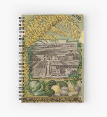 1888 Seed Catalog Spiral Notebook