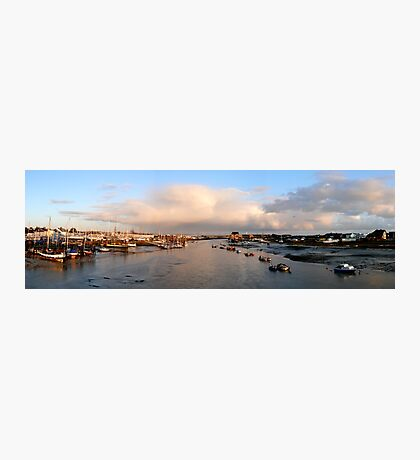 Shoreham Harbour Panorama Photographic Print