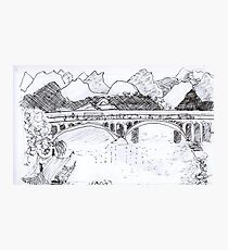 Guilin China, landscape Photographic Print