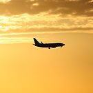 The sky is on fire by EHAM-spotter