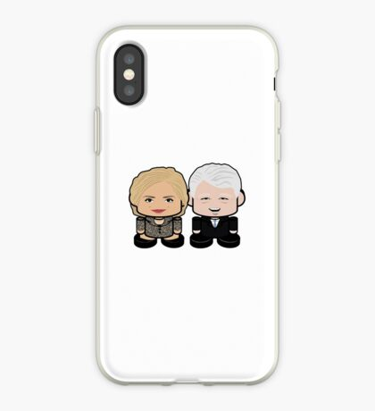 Hill & Bubba: Greater Together Politico'bot Toy Robots iPhone Case