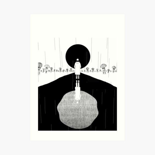 Forever Rain RM Art Print