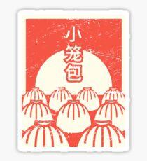 Funny Xiaolongbao Chinese Food Dumpling Sticker
