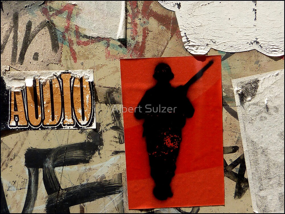 Gunman- Graffiti by Albert Sulzer