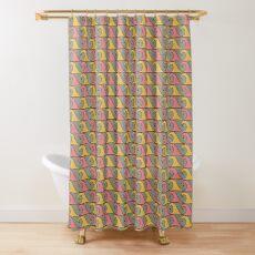 Primitif 12 by Hypersphere Shower Curtain