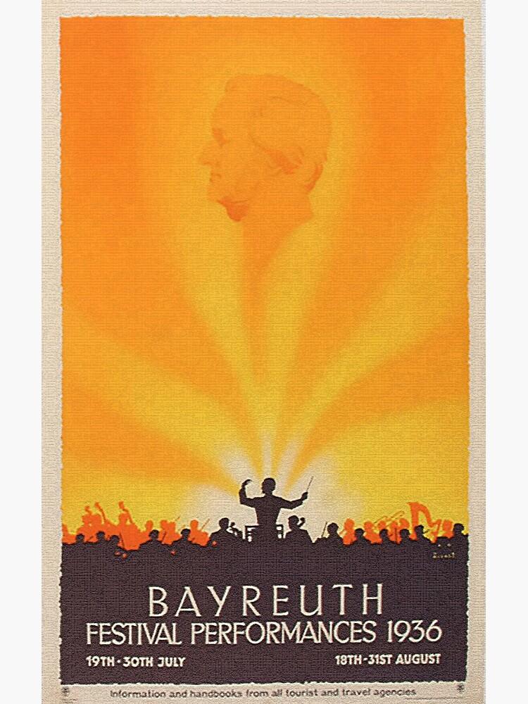 Richard Wagner Bayreuth Festival Performances by edsimoneit