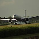 First Foot on Dutch Soil by EHAM-spotter