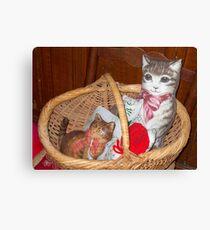 Kitties Canvas Print