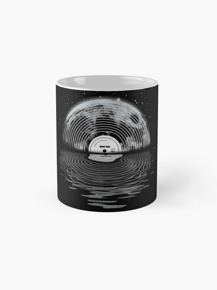 Alternate view of Moon Song Mugs