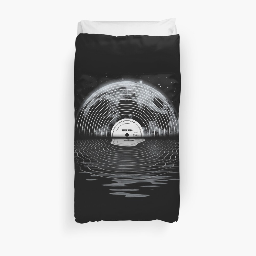Moon Song Duvet Cover